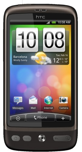 HTC A8181 Desire Unlocked Quad-Band GSM Phone with Android OS, HTC Sense UI, 5 MP Camera, Wi-Fi and gps navigation--International Version with Warranty (Brown)