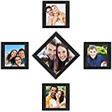 Sifty Collection Collage Photo Frame(5x5) 5, Set Of =5pcs - B01J1CS1W6