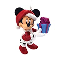 Hallmark Disney Minnie Mouse as Mrs. Claus Christmas Ornament