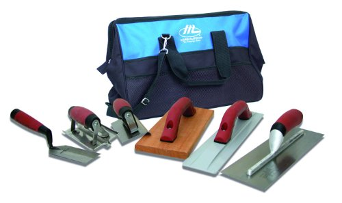 Marshalltown CTK3 Concrete Tool Kit with 20-Inch Nylon Tool Bag