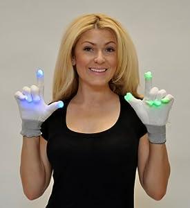 Flashing Blinky Light Up LED Gloves