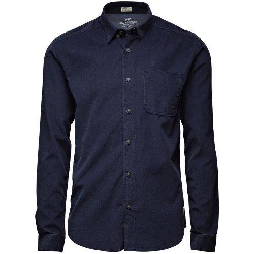 Jack and Jones Nate shirt dress blue Navy Large