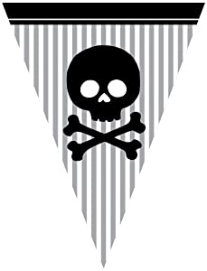 Creative Converting Pirate Parrty Flag Banner by Creative Converting