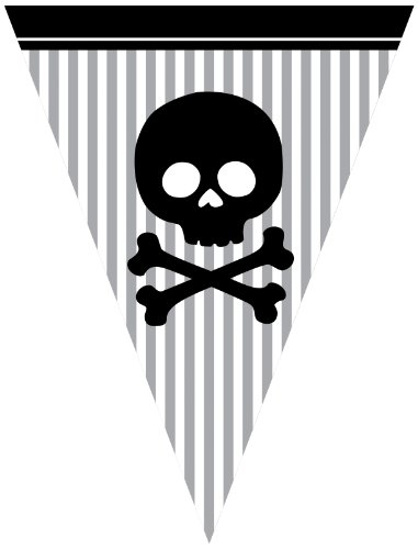 Creative Converting Pirate Parrty Flag Banner