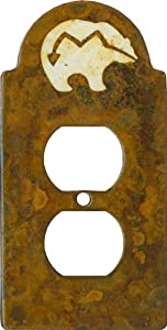 ZUNI BEAR Switchplates Outlet Covers, Rockers, GFCI Duplex $12.50