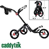 "CaddyTek CaddyLite 13.5 Quad Fold Golf CartBy CaddyTek        Click for more info        First tagged ""golf cart"" by Bea"