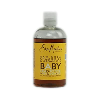 Shea Moisture Raw Shea Butter Baby Head-to-Toe Wash & Shampoo - 13 oz