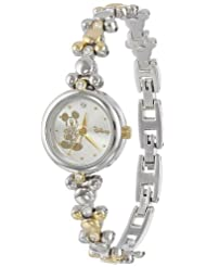 Disney Womens MCK313 Two Tone Bracelet