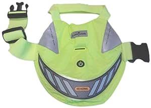 Lighted Pet Vest, X-Large, Lime Green