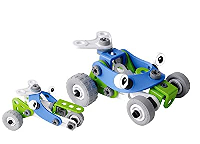 KAWO Puzzle Building Blocks Early Educational & Creative Assembled Screws Nuts Combination Builder Toys