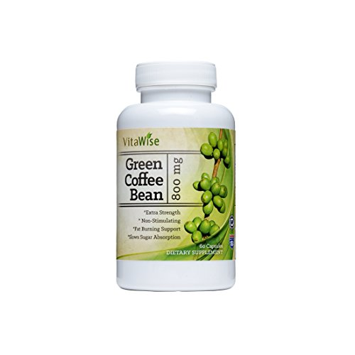 Green Coffee Bean Extract Formula - Highest Grade & Quality Antioxidant GCA (Standardized to 50
