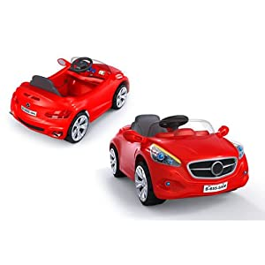 Mercedes AMG 12v Battery Powered Electric Ride On Sports Car In Red - Ages 2+ Years