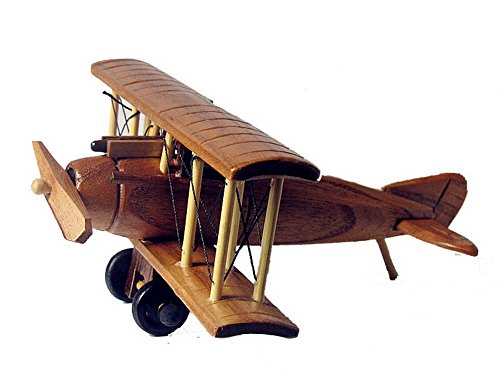 Handmade Wooden Airplane Model Wooden Crafts--B