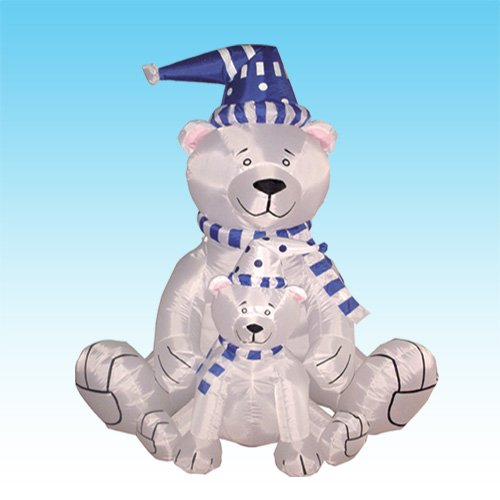 Christmas Inflatable Polar Bears