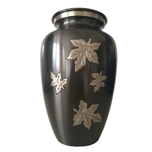 Large Size Classic Falling Leaves Urn For Human Ashes (Big Urns For Human Ashes compare prices)