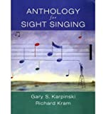 img - for [(Anthology for Sight Singing )] [Author: Gary S. Karpinski] [Sep-2006] book / textbook / text book