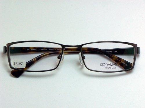 Kio Yamato Eyeglasses Frames : New Kio Yamato KT-253 Col. 35 Shiny Antique Brown Titanium ...
