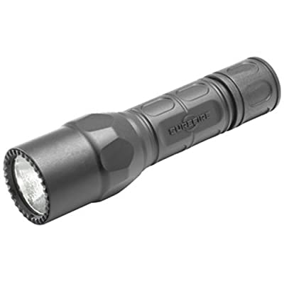 Surefire G2X Tactical Flashlight Single Output LED - 320 Lumens Tactical Momentary-On Tailcap Switch G2X-C-BK from Surefire