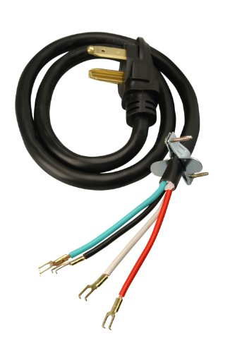 Coleman Cable 09154 4-Feet 30-Amp 4-Wire Dryer Power Cord (Dryer Cord 4 Wire compare prices)