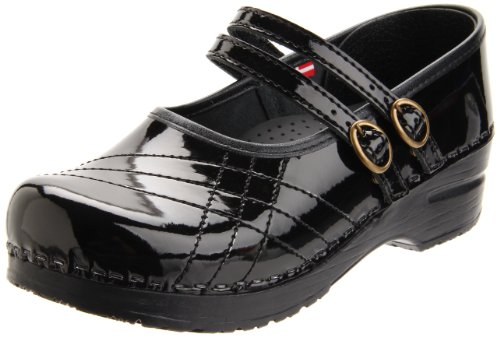Sanita Women's Claire Sibel Clog,Black,38 EU/7.5-8 M US