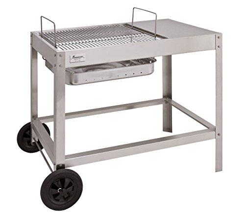 Landmann Barbecue a carbonella Collection numero 1carrello per barbecue, argento
