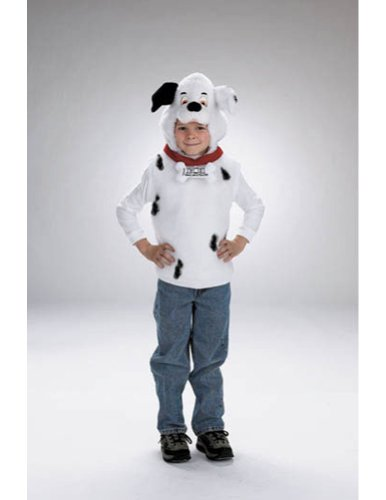 Baby-boys - 101 Dalmatians Vest Toddler Costume 1 To 2 Halloween