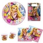 Disney Rapunzel Partyset 46 Teile Kin...