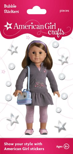 American Girl Crafts Bubble Stickers, Play Outfit