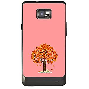 Skin4gadgets Fall Tree Colour - India Red Phone Skin for SAMSUNG GALAXY S2 (I9100)