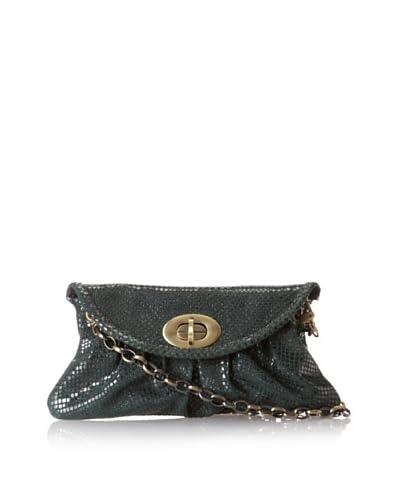 Carla Mancini Women's Sidney Mini Shoulder Bag, Forest Green Shimmer