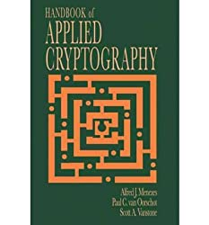 [(Handbook of Applied Cryptography)] [by: A.J. Menezes]