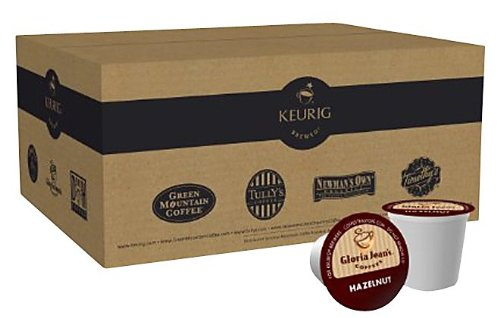 Gloria Jean's Coffees,Hazelnut K-Cups for Keurig Brewers, 50 ct