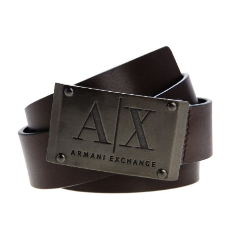 Armani Exchange Mens Belts  AX Store