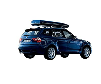 BMW Roof Rack Base Support System X3 (2004-2010)-Thule Cargo Box For Sale