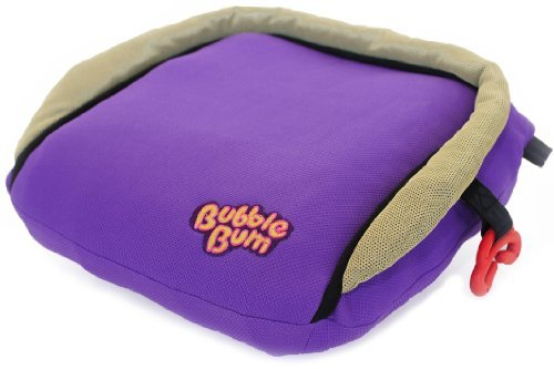 Inflatable, Portable Car Booster Seat PURPLE