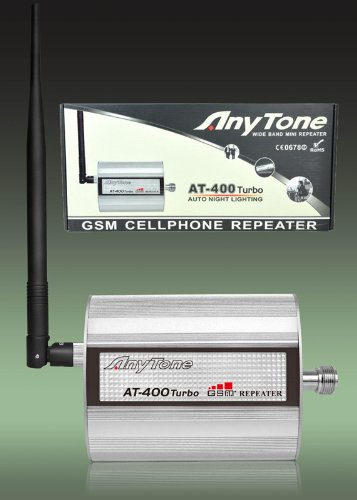 HUKITECH AnyTone AT-400 TURBO GSM Repeater Verstärker Booster D1 Telekom D2 Vodafone