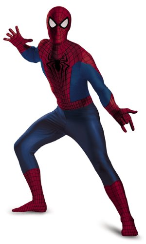 Disguise Men's Marvel The Amazing Movie 2 Spider-Man Bodysuit Costume - XL or XXL