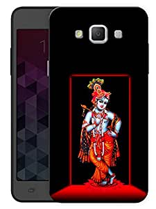 """Humor Gang Lord Krishna - Indian Hindu God Printed Designer Mobile Back Cover For """"Samsung Galaxy A3"""" (3D, Matte, Premium Quality Snap On Case)"""