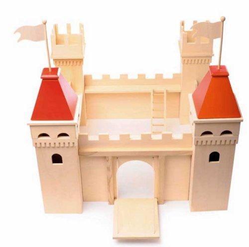 Burg aus Holz