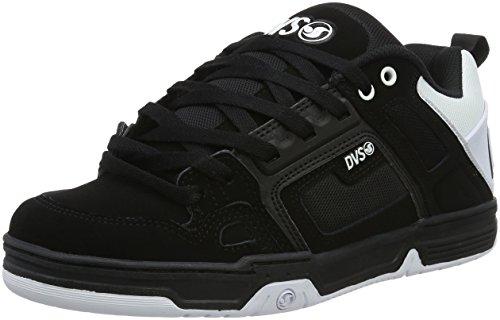 DVS SHOESCOMANCHE - Scarpe da Skateboard Uomo , Nero (Schwarz (Blk Wht Blk 965)), 43