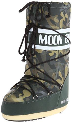 Tecnica Women's Moon Camu Winter Fashion Boot, Military, 44 EU/9.5-11 M US (Womens Insulated Camo Boots compare prices)