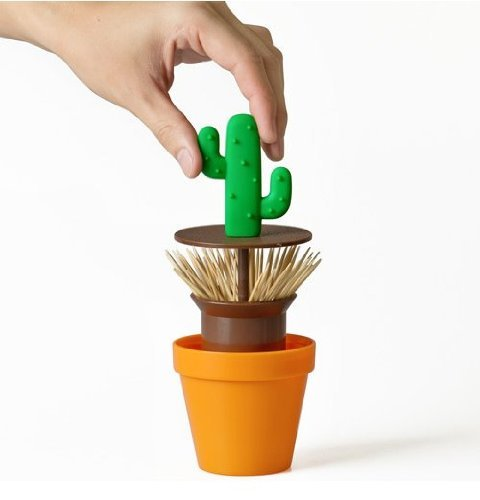 Bob shop potted toothpick box Cactus Toothpick Holder gift for santa party