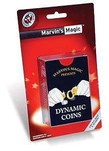 Marvin's Magic Dynamic Coins Blister Card