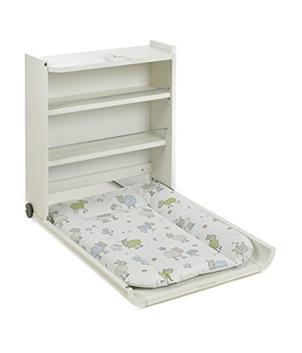 geuther table langer murale blanche wanda coloris mouton. Black Bedroom Furniture Sets. Home Design Ideas