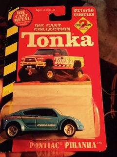 Tonka Die Cast Collection 2 Pontiac Piranha