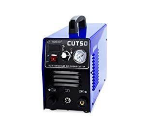 Inverter Air Plasma Cutter Welder & Digital Display&Pressure Gauge CUT50 Fast Ship by china