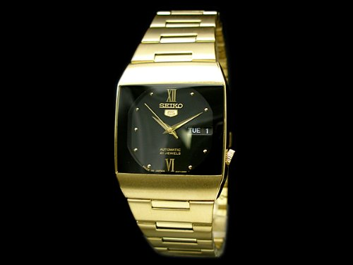 Seiko 5 Gold Gents Dress Watch SNY014J1