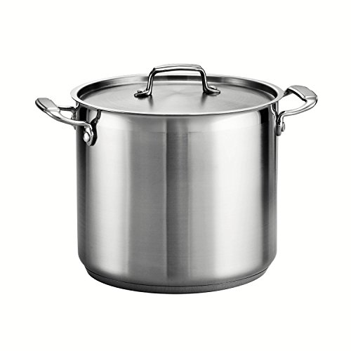 Tramontina 80120/000DS Tramontina Gourmet Stainless Steel Covered Stock Pot, 12-Quart (Stock Pot For Induction Cooktop compare prices)