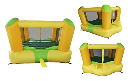 Inflatable Bounce Play House Mighty Slide Moonwalk Jumper Bouncer Bouncy Jump Castle #4 front-914762