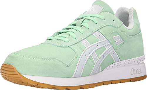 Onitsuka Tiger by Asics Men's GT-II? Green Ash/Soft Grey Sneaker 9.5 D (M)